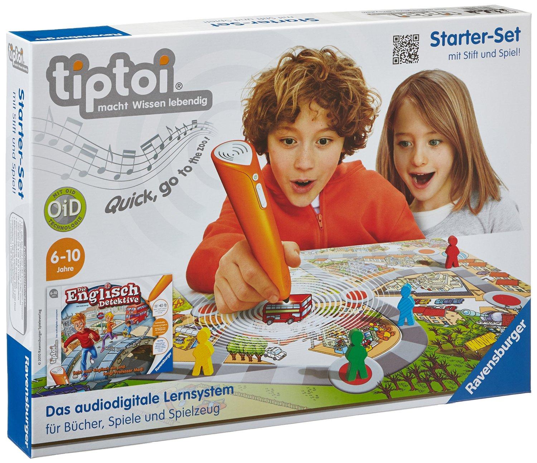 Amazon Ravensburger  tiptoi®: Starter-Set mit Stift & Spiel um 27,99 € ( Preisvergleich 37,00 € )