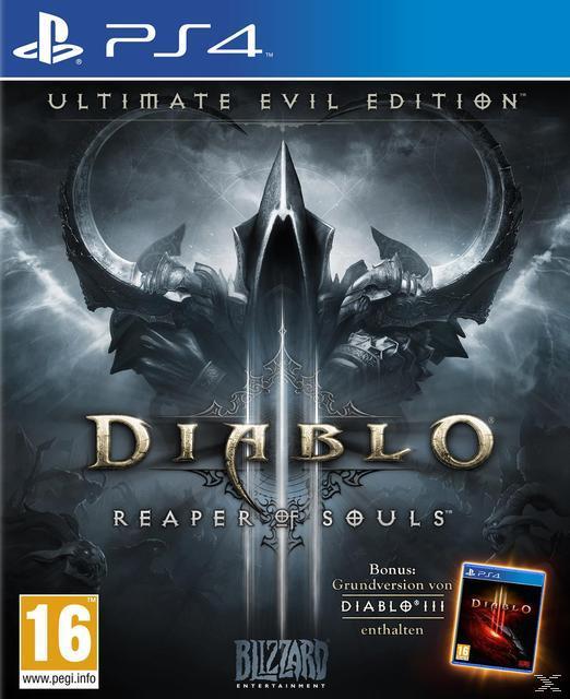 Diablo III: Reaper of Souls PS4 (für andere Systeme eventuell vor Ort): 19,99