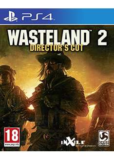 [Base.com] Wasteland 2: Director's Cut (PS4) für 23,66€