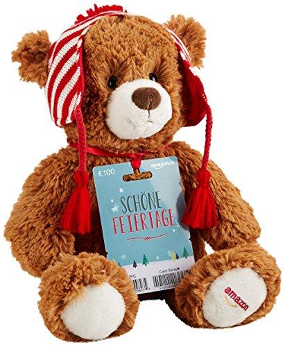 Amazon: Gratis Teddybär zur 100 € Gutscheinkarte