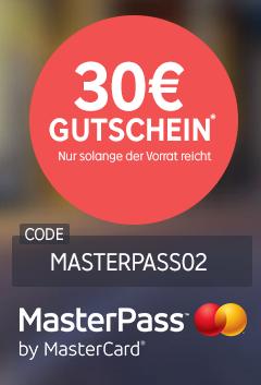 [Rakuten] 30€ geschenkt bei Zahlung mit Masterpass!!!