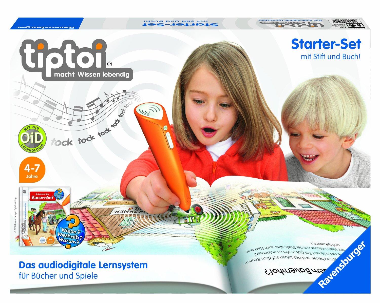Amazon  tiptoi: Starter-Set mit Stift und Buch um 33,99 € (Preisvergleich 39,99€ )