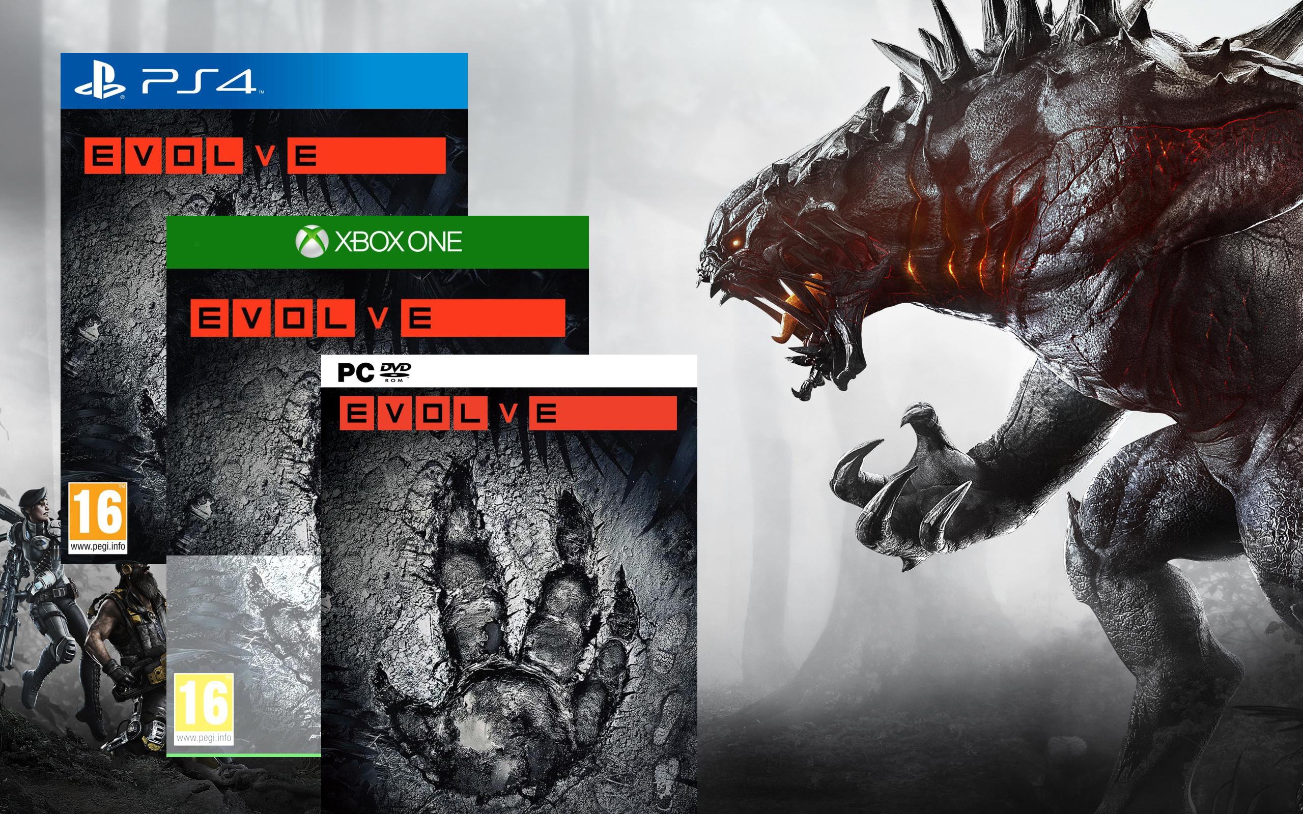[Amazon.fr] EVOLVE (Xbox One) für 10,84 bzw. PC für 11,84€ - Ersparnis: 69%