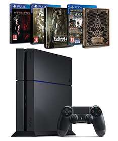 [Amazon.fr] PS4 500 Go (neue Version) + Assassin's Creed : Syndicate + Fallout 4 + Metal Gear Solid V : the Phantom Pain + 2 Steelbook