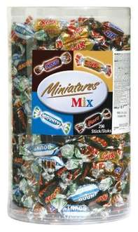 "Miniatures (""Celebrations"") Box (3 kg) um 23,99 € - rund 20% sparen"
