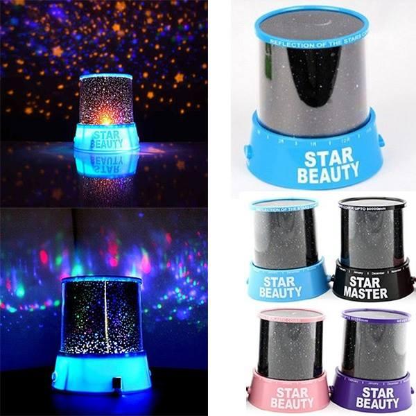 LED Stars Kosmos-Projektor - Lass den Kosmos strahlen – für 5,69€ inkl. VSK