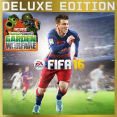 [PSN] PS4: FIFA 16 (Deluxe Edition) + Plant vs. Zombies Garden Warfare für 34,99€ - Ersparnis: 60%