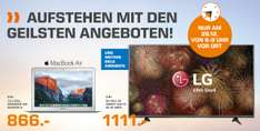 "LG 65"" 4K Smart TV @ Saturn 6-9 Uhr Shopping"