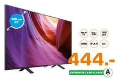 "Philips 43"" 4K Smart TV @ Saturn 6-9 Uhr Shopping"