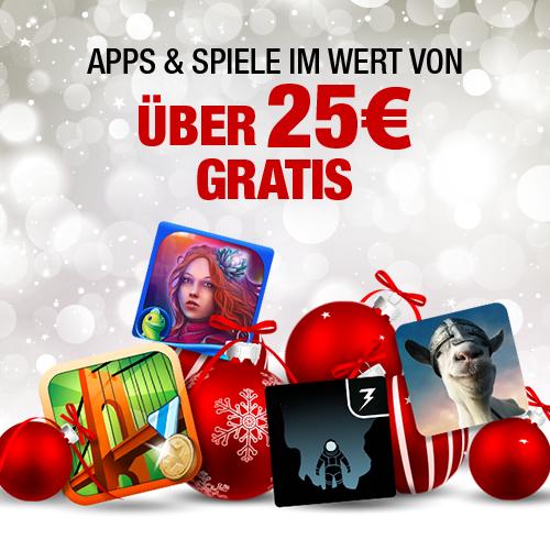 Amazon App-Shop: 13 Apps im Gesamtwert von 25€ komplett kostenlos! - nur bis zum 27. Dezember