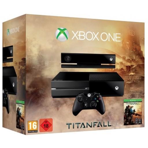 Libro: Microsoft Xbox One inkl. Kinect 2.0 - 500GB, Titanfall Bundle für 299€