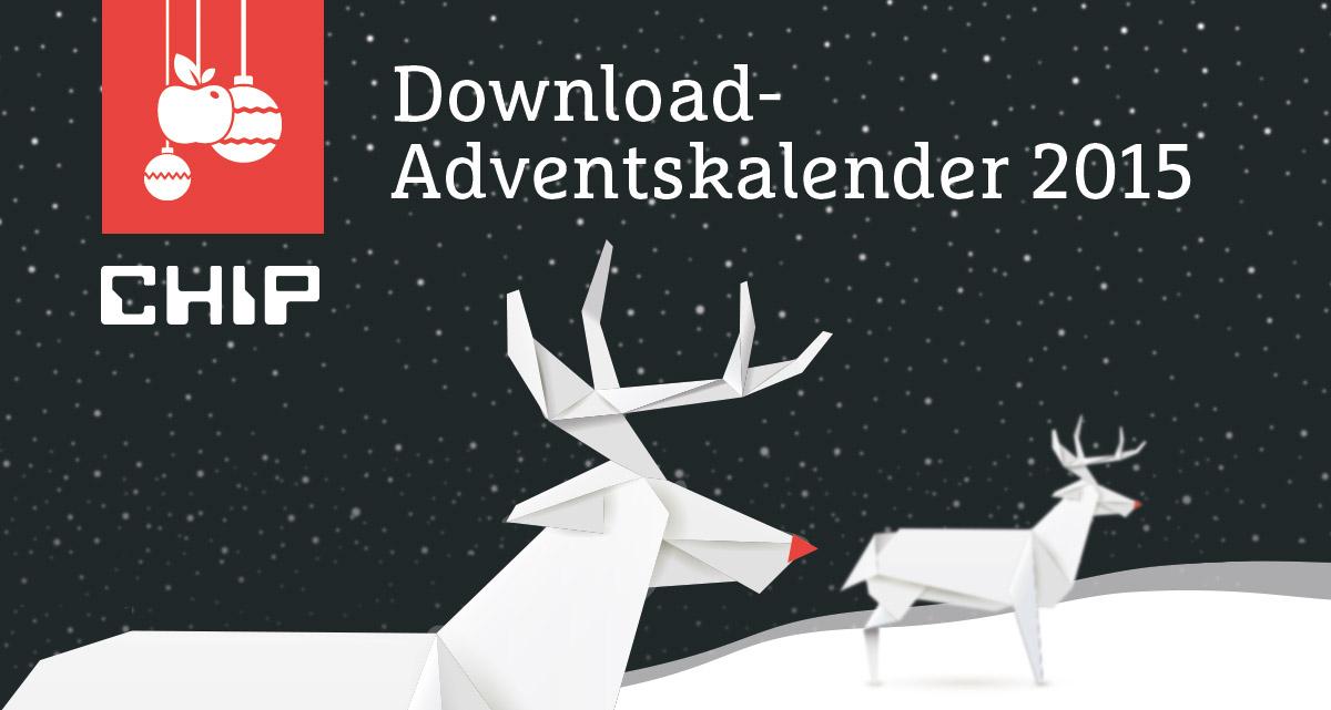 Allerletzte Chance: Gratis-Vollversionen im CHIP Adventskalender sichern