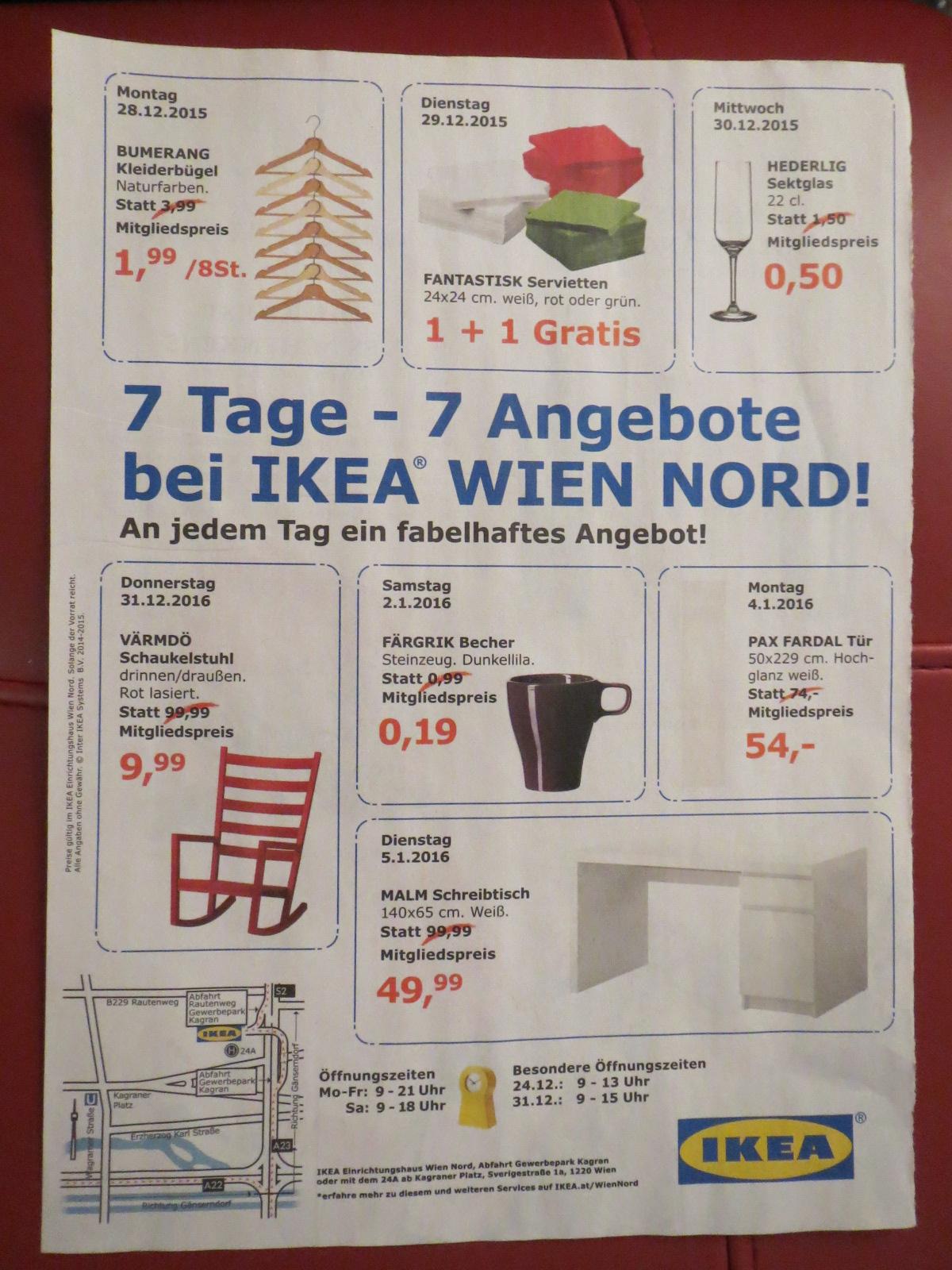 Schaukelstuhl 9,99 | 7 Tage - 7 Angebote bei IKEA Wien Nord