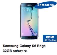 Samsung S6 Edge (32 GB) um 499,95 € bei Hartlauer