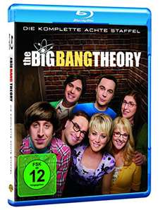 [Amazon.de] Big Bang Theory Staffel 8 BluRay im Tagesangebot nur 25,18€