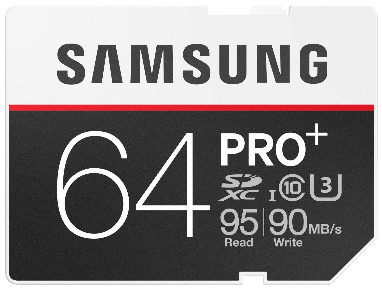 [Amazon.de] Tagesdeal: Samsung Speicherkarte SDXC 64GB PRO Plus UHS-I Grade U3 Class 10