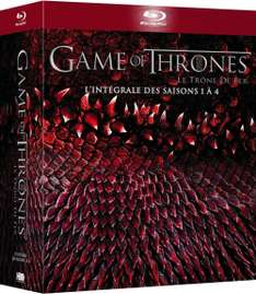 [Amazon.fr] Game of Thrones ( Staffel 1-4) für 40,19€ - Ersparnis 56%