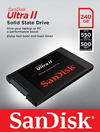 SanDisk Ultra II SSD (240 GB) um 69 € - 13% sparen