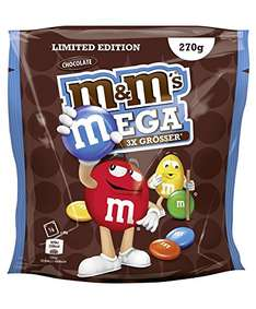M&M's Mega Chocolate - Limited Edition (5 Beutel à 270 g) um 11,11 € - 31% sparen