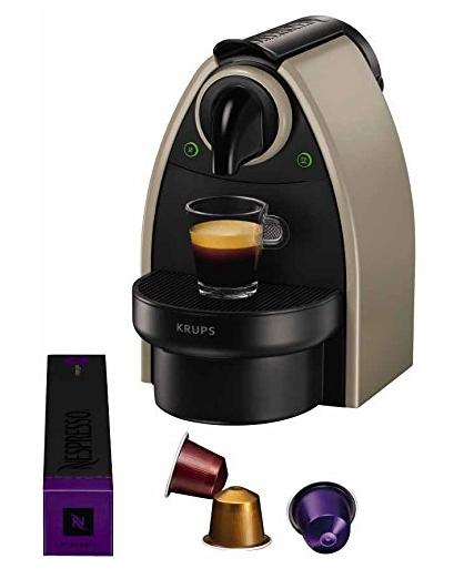 Krups Nespresso Essenza Kaffeekapselmaschine um 36 € inkl Versand - 49% sparen