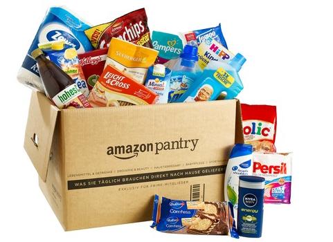 (HOT) Amazon Pantry Box: 10 € Rabatt + Gratisversand