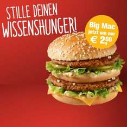 Big Mac um 2€