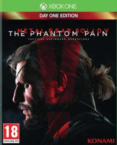 [Amazon.fr] Metal Gear Solid V: The Phantom Pain (Xbox One) für 29,43€!! Ersparnis: 38%