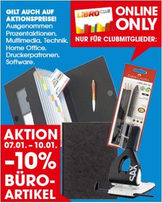 LIBRO: Büroartikel -10% / Texas Instruments Rechner -15% / uvm.