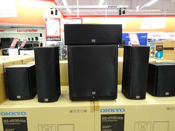 ONKYO SKS-HT 978 THX 5.1 Lautsprecher um 449€ (-33%)