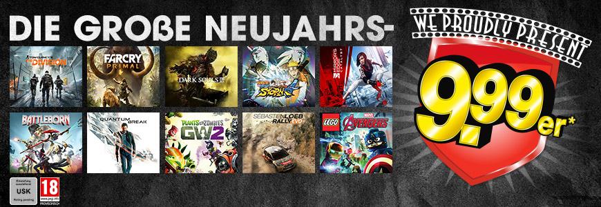 GameStop: div. Games für nur 9,99€ vorbestellen - nur bis zum 23. Jänner