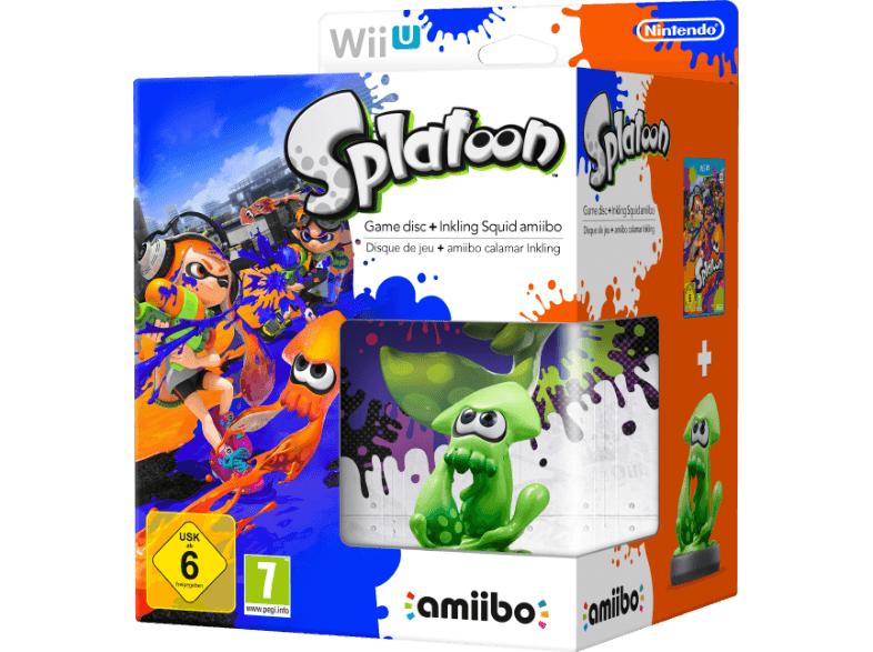 Splatoon mit Inkling-amiibo und diverse amiibos zu Animal Crossing bei den Saturn Tagesdeals [Wii U/3DS]