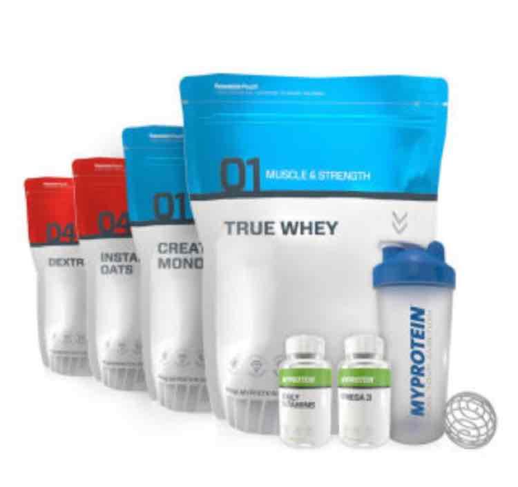 MyProtein 3 für 2 Aktion - 3 Produkte kaufen und nur 2 zahlen
