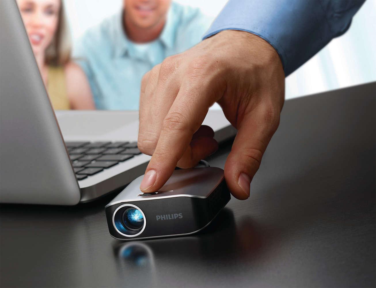 "[0815.at] ""Weekendknaller"" Philips PicoPix PPX 2055 portabler Taschenprojektor um 149€"