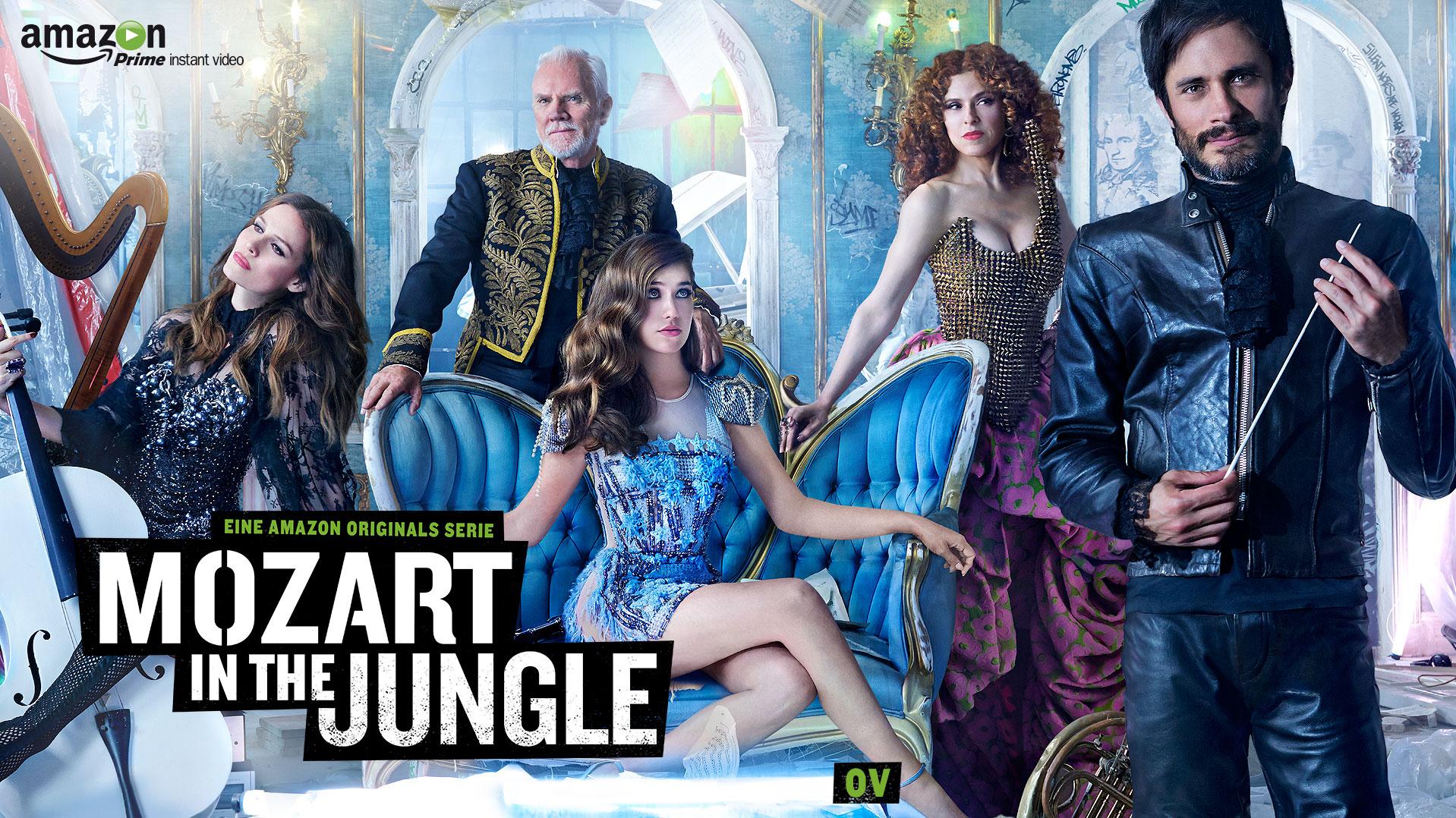 [Amazon Instant Video] Mozart in the Jungle Staffel 1+2 kostenlos streamen ( auch OHNE PRIME MITGLIEDSCHAFT)