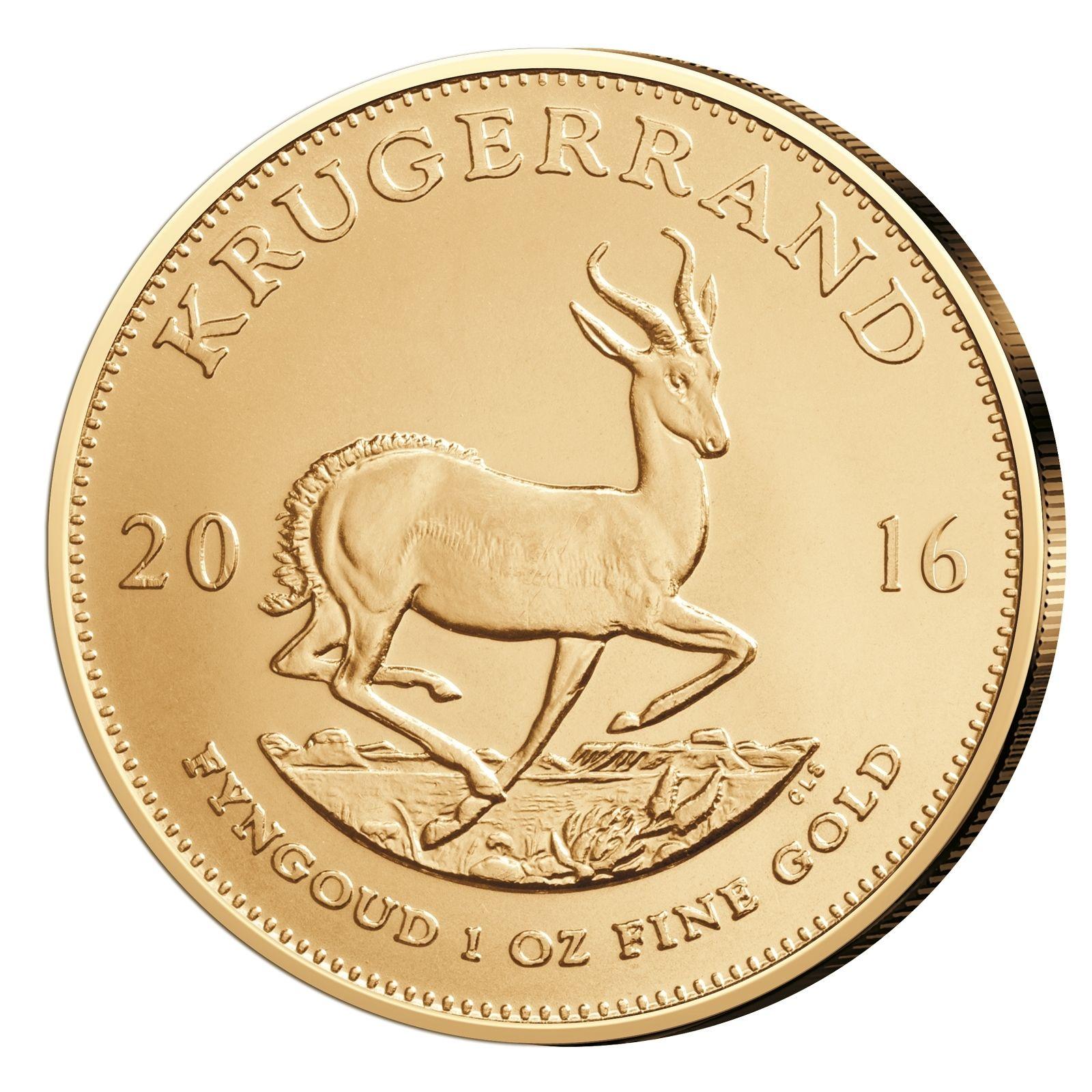 1oz Krügerrand 2016 Goldmünze zum aktuellen Gold-Kurs @ebay