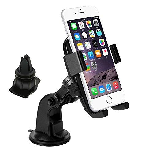 2 in 1 Set KFZ-Halterung 360-Grad-Drehung für Smartphones 5,99€