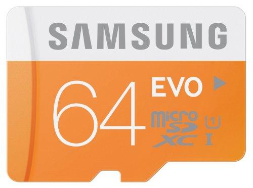 Amazon Prime: Samsung Speicherkarte MicroSDXC 64GB GB EVO für 15€