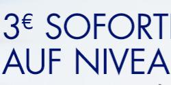 Amazon: 3 € Sofort-Rabatt auf Nivea - ab 9 € - 33% sparen