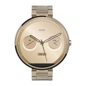 Motorola Smartwatch Moto 360 (gold, Edelstahl) um 180 € inkl Versand - 9% sparen