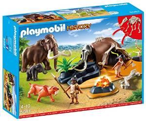 Playmobil Steinzeitlager mit Feuer für nur 11,64€