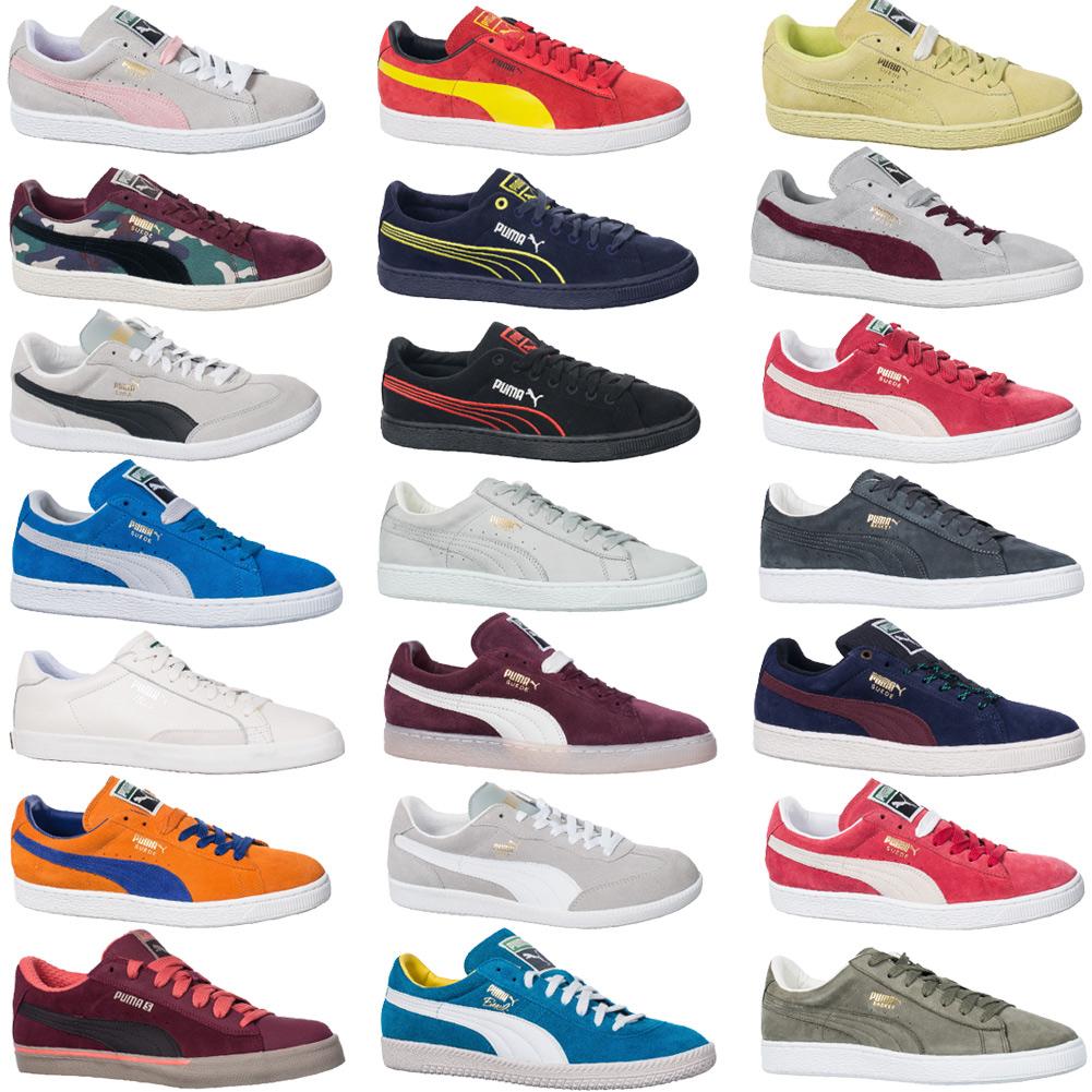 PUMA Unisex Leder Sneaker (viele Größen & Farben) für nur 32,99€ inkl VSK