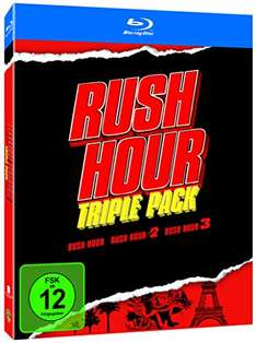 Rush Hour, Butterfly Effect, Matrix Trilogy Bluray für 14 Euro bei Amazon