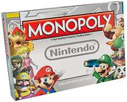 [Amazon.co.uk] Monopoly Nintendo Edition für 27,50€ - 21% sparen