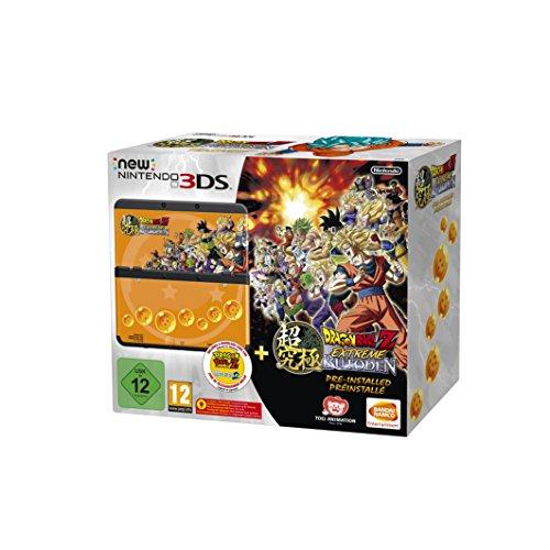 Amazon: New Nintendo 3DS schwarz inkl. Dragon Ball Z: Extreme Butoden + Zierblende für 169,99€