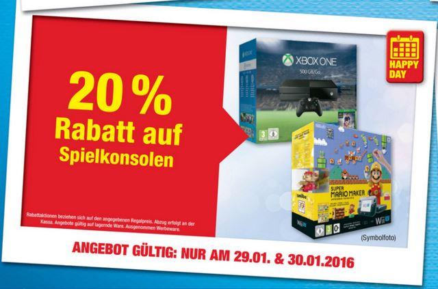 Metro: -20% auf Spielekonsolen