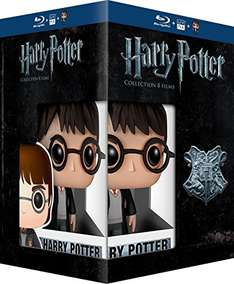 Harry Potter Komplettbox + Figur (Blu Ray)