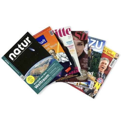 Verschiedene Zeitschrifte Abos für je 4,95€ @ebay.de