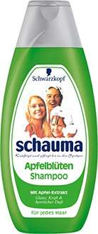 [Amazon Plus-Produkt] Schauma Apfelblüte-Shampoo, 3er Pack 3x400ml