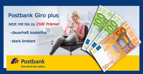 Nur noch bis morgen! *Kracher* Bis zu 250€ Prämie für kostenloses Girokonto (auch Studenten)