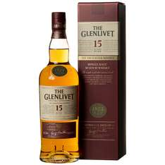 The Glenlivet 15 Jahre Single Malt Scotch Whisky
